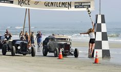 The Race of Gentlemen, rat-rod races on the beach? Yes please!