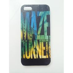 HANDMADE The Maze Runner Case ($12) ❤ liked on Polyvore featuring accessories, tech accessories, phone cases and phone