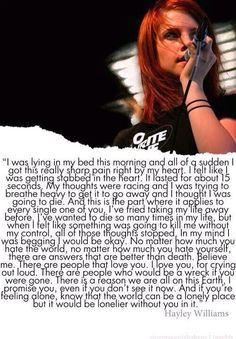 And this shows why Hayley Williams is such an amazing human being