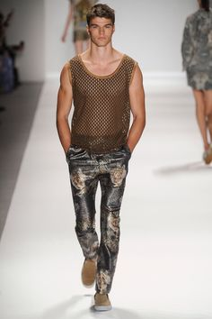 Custo Barcelona Spring 2014 Ready-to-Wear Collection Slideshow on Style.com #menswear #fashion #style