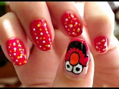 Uñas oso rosa - nails pink bear - YouTube