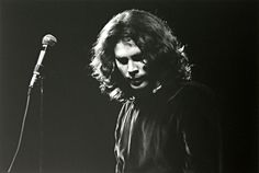 Jim Morrison performing live with The Doors at Hunter College in New York, in 1968, by Eliott Landy