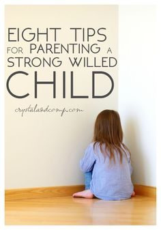 tips for parenting a strong willed child
