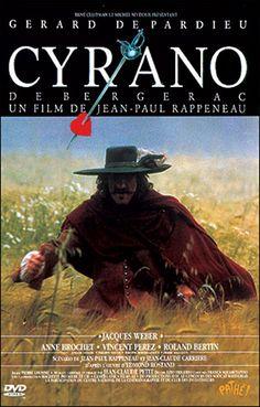Cyrano de Bergerac de Jea-Paul Rappeneau 1990. Un classique, et le jeu de Depardieu est juste excellent !