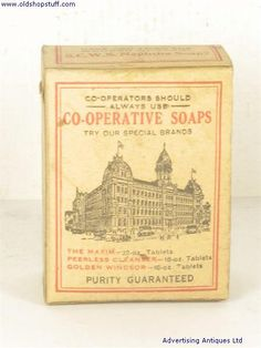 Old Shop Stuff | Old-Packaging-S.C.W.S.-No.1-Soap-Powder for sale (4137)