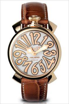 ガガミラノ腕時計[GaGaMILANO時計](GaGaMILANO腕時計ガガミラノ時計)マヌアーレ40MMプラカットオロ(MANUALE40MMPLACCATOORO)/メンズ/レディース/男女兼用時計GG-5021.2