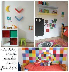 Childs Bedroom Makeover for £50