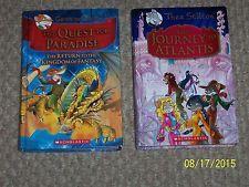 Geronimo Stilton Quest For Paradise Thea Stilton Journey to Atlantis HC RL 3