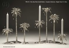 Patrick Mavros - Date Palm Candle Holders - Seriously, if I ever had the money.