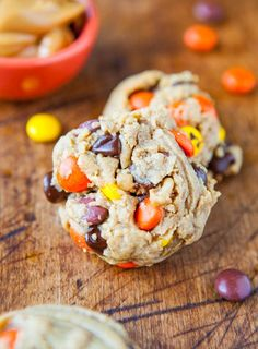Reese's Pieces Soft Peanut Butter Cookies Made 10/13 everyone loved these! Big hit!.
