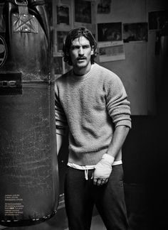 Jarrod Scott Wears H&M For Gq Uk October Editorial
