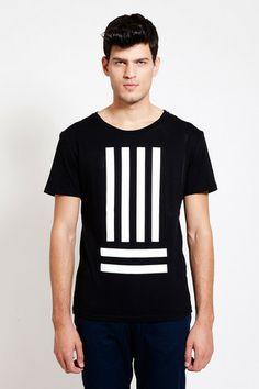 'Earn your stripes' T-SHIRT by DIG ATHENS. Minimalist street style! Minimalist Street Style, Striped Tee, Graphic Sweatshirt, T Shirt, Mens Sweatshirts, Stripes, Athens, Unisex, Mens Fashion