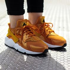 "Women's Nike Air Huarache Run ""Sunset"" available online or in store at 81 W Merrick Rd Freeport NY 11520."