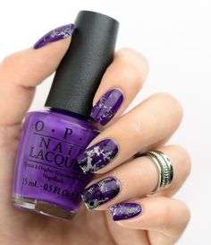 "ZigiZtyle: Waterspotted nails, OPI - Do You Have This Color In Stock-holm?, OPI - My Voice Is A Little Norse, OPI - My Signature Is ""DC"", A England - Camelot"
