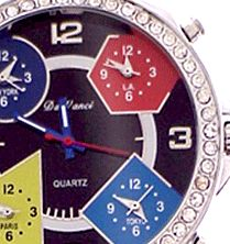 c511055a6b3 Travel 5 Time Zone Watch for Women –Instant View Dual Time Zone Face Watches  Save
