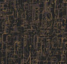 Papel pintado 1993-4 de la colección 9 Selvas De Mariscal de Tres Tintas