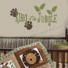 King of the Jungle! Wanted to do a lion nursery for my sons in the future!! If its a boy!!!