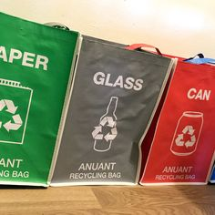 bags filled with recycling items Biodegradable Products, Wine Bottle Crafts, Wine Bottles, Deodorant Containers, Dining Room Centerpiece, Natural Toothpaste, Wine And Liquor, Soap Packaging
