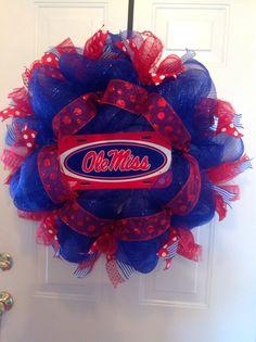 My Ole Miss wreath