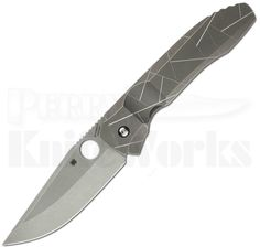 "Perry Knife Works - Spyderco Nirvana Integral Framelock Knife (3.75"" Stonewash) C199TIP, $431.97 (http://www.perryknifeworks.com/spyderco-nirvana-integral-framelock-knife-3-75-stonewash-c199tip/)"