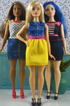 https://flic.kr/p/GR4fTo | Barbie Fashionistas - Curvy (Mattel) | Barbie…