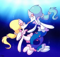 Image result for what are Pokemon mermaids