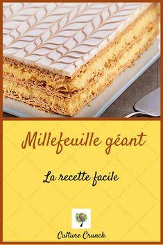 Danish Cake, Danish Dessert, Lemon Desserts, Mini Desserts, Desserts Around The World, Crunch Recipe, Cake Recipes, Dessert Recipes, Food Truck Business