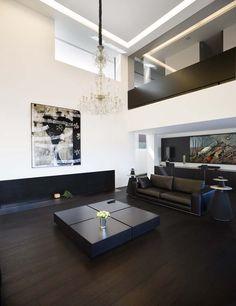 Casa en La Coruña, Avenida del Pasaje. Diseño de arquitectos A-cero. Audio: Bang & Olufsen.