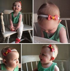 Baby hairbow