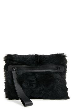 MARC BY MARC JACOBS Shearling Square Clutch available at #Nordstrom