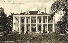 """Natchez Mississippi MS """"Dunleith"""" Antebellum Home Antique Vintage Postcard Natchez Mississippi MS """"Dunleith"""" antebellum home. Unused Albertype antique vintage postcard in excellent conditi Southern Plantation Homes, Southern Mansions, Southern Homes, Plantation Houses, Greek Revival Architecture, Southern Architecture, Beautiful Architecture, Classic Architecture, Historical Architecture"""