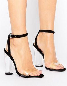 Truffle Collection Sandalen mit durchsichtigem Plexiglas-Design (67,99 €)