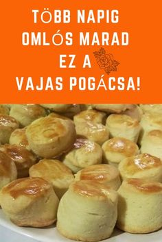 Savory Pastry, Hungarian Recipes, Whoopie Pies, Soul Food, Healthy Living, Goodies, Food And Drink, Sweets, Bread