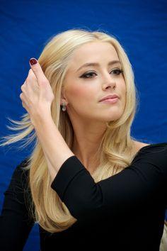 Amber Heard AH, The hair!