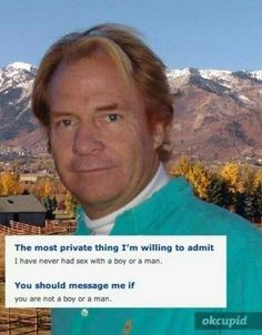 funny online dating profile pictures