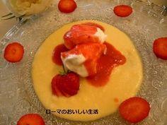 フワモコ卵・・・おしゃれなフランスのスイーツ ウフ・ア・ラ・ネージュ レシピブログ