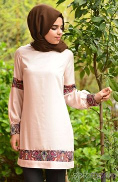 Tunikler All Day 50249-07 Pudra
