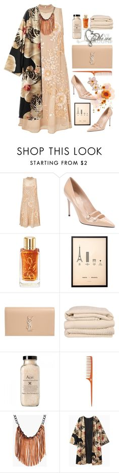 """""""25.10.16"""" by malenafashion27 ❤ liked on Polyvore featuring Miss Selfridge, Gucci, Lancôme, me&him&you, Yves Saint Laurent, Brahms Mount and Boohoo"""