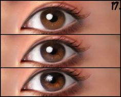 In this tutorial, Linda shows us step by step how she paints realistic eyes.
