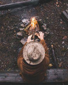"""Go follow @campingofficial for more outdoor inspiration. Photo by @robstrok #modernoutdoorsman"""