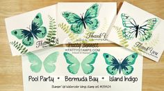 How to Stamp Watercolor Wings Butterfly set - Video Tutorial (via Bloglovin.com )
