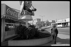 Doggie Diner at 3100 Mission Street at Army Blvd, now Cesar Chavez (1981) Doggie Diner was a chain of fast food restaurants scattered around the Bay Area. The franchise enjoyed its heyday during a mid-1960s expansion, during which it installed rotating doggie-head mascots above each of its 30 or so restaurants. The doggie-heads became iconic in San Francisco, even after the Doggie Diner chain shut down for good in 1986.