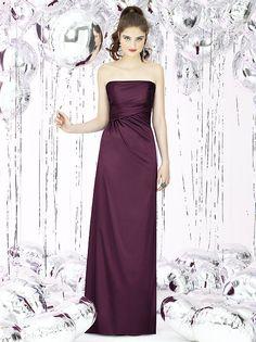 Social Bridesmaids Style 8122 http://www.dessy.com/dresses/bridesmaid/8122/?color=bordeaux&colorid=6#.UnBkv6MpDFo