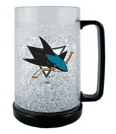 San Jose Sharks Crystal Freezer Mug