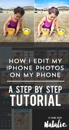 HOW I EDIT IPHONE PHOTOS ON MY PHONE-ATHOMEWITHNATALIE