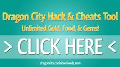 Dragon City Hack --> Download: http://dragoncity.cooldownloadz.com | Features:  •Gold Hack  •Food Hack  •Gem Hack  •Fully Undetectable Connection  •Proxy Support