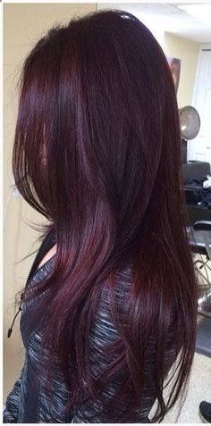 35 Shades of Burgundy Hair Color for 2019 Hair Color plum hair color Pelo Color Borgoña, Pelo Color Vino, Red Hair Color, Purple Hair, Burgundy Color, Burgundy Plum Hair, Violet Hair, Color Red, Maroon Hair