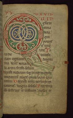 Illuminated Manuscript, Claricia Psalter, Walters Art Museum Ms. W.26, fol.64r by Walters Art Museum Illuminated Manuscripts, via Flickr