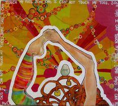 Znalezione obrazy dla zapytania yoga art collage