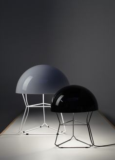 Table lamp design Arik Levy, Dom collection by Forestier